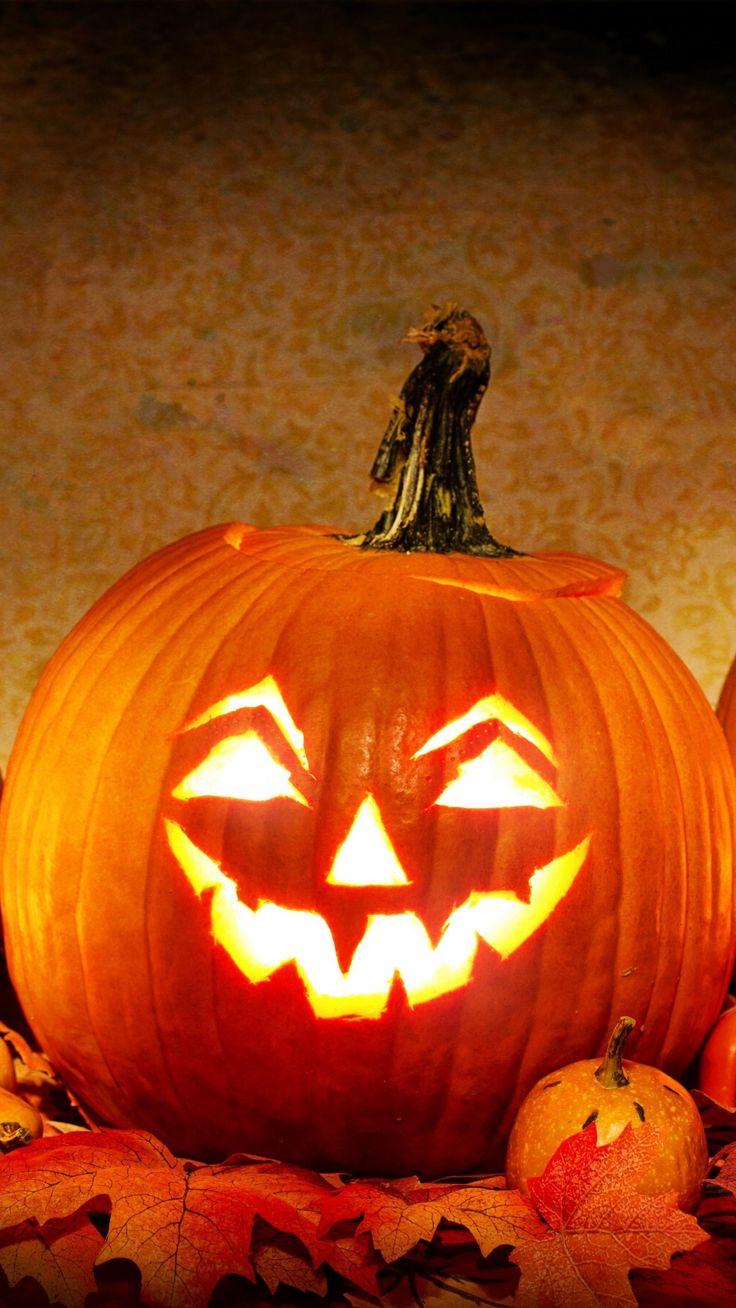 Jack o' Lantern Halloween Pumpkin Wallpaper iPhone