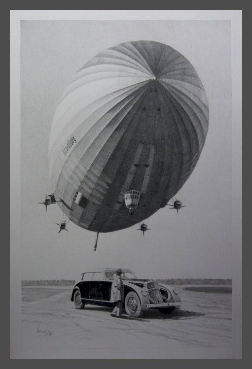 LZ-129 Hindenburg ~ Airships, Dirigibles, Zeppelins, & Blimps ~ BFD