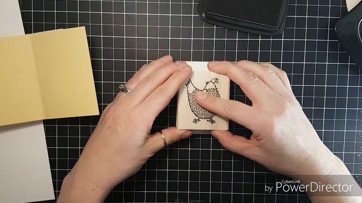 Twist and Pop Chicken Card