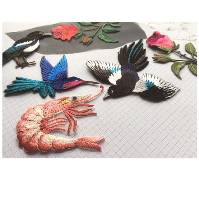 Embroidery samples - Ellie Mac Embroidery