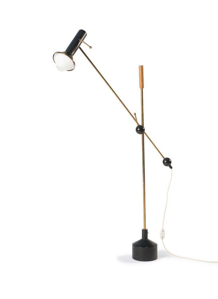 auction 118A - Tapio Wirkkala. 'K-1047' floor light, 1960.