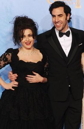 Helena Bonham Carter, Sacha Baron Cohen.. I love Helena Bonham Carter's dress...