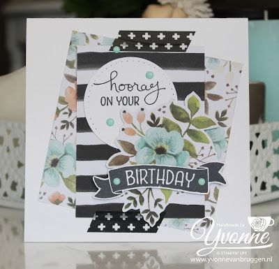 ...... Yvonne Stampin '& Scrapping ..... card with Project Life Products