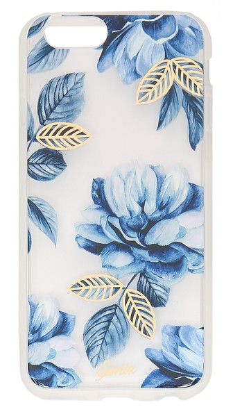 Sonix Indigo iPhone 6 / 6s Case now sold exclusively at Shop Bop! #sonix #sonixcases #shopbop #indigo #floral