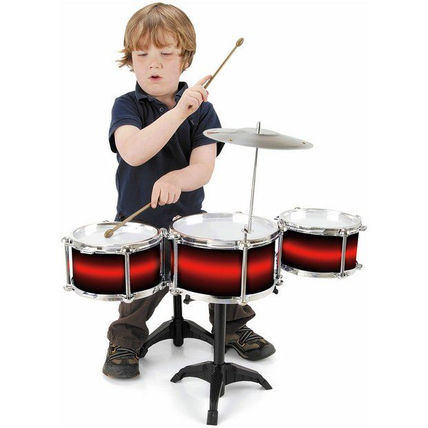 Buy Toyrific My First Drum Set at Argos.co.uk - Your Online Shop for Musical toys, Creative and science toys, Toys.