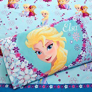 Disney Anna and Elsa Sheet Set - Twin | Disney StoreAnna and Elsa Sheet Set  -