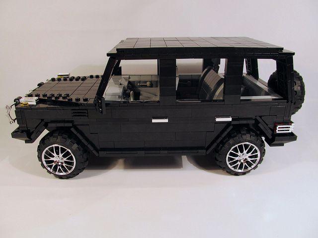 Lego mercedes benz g klasse mercedes benz off road for Lego mercedes benz