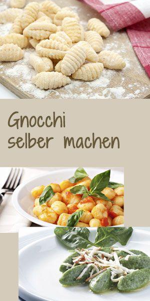 Gnocchi kann man ganz leicht selber machen. So geht's: http://www.bildderfrau.de/kochschule/gnocchi-selber-machen-s1474583.html #gnocchi
