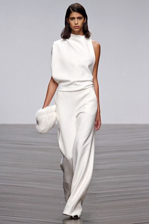 Winter White Dress Pants