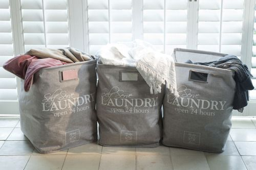 Laundry bags, you would love to the laundry from now on.....