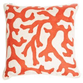Coral Pillow Sham in Hermes
