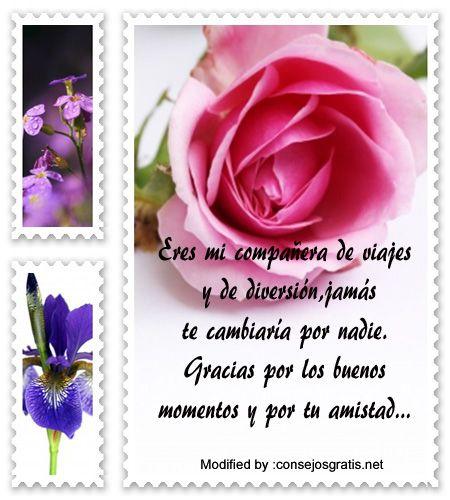 buscar palabras bonitas de amistad,enviar bonitos saludos de amistad:  http://www.consejosgratis.net/mensajes-de-amistad-para-amigos/