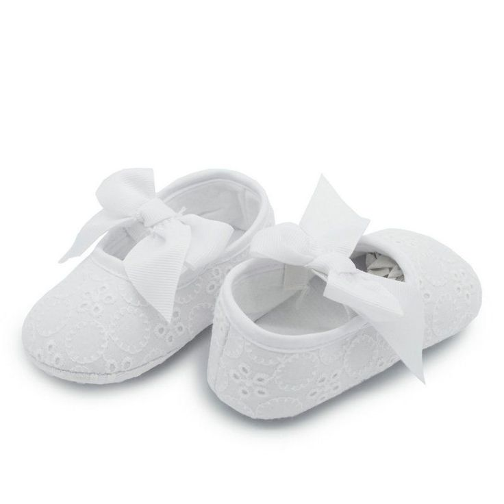 Baby and toddler shoes - White suit girl or boy for Christening all other colours for girls for parties $3.05 from Aliexpress