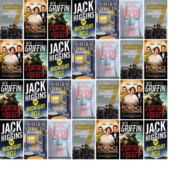 """Saturday, December 31, 2016: The Maryville Community Library has two new bestsellers, two new videos, and two other new books.   The new titles this week include """"The Magnificent Seven,"""" """"Florence Foster Jenkins,"""" and """"Curtain of Death."""""""
