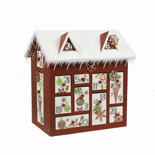 calendrier de l 39 avent maison 3d 30 cm loisirs cr atifs pinterest products catalog and d