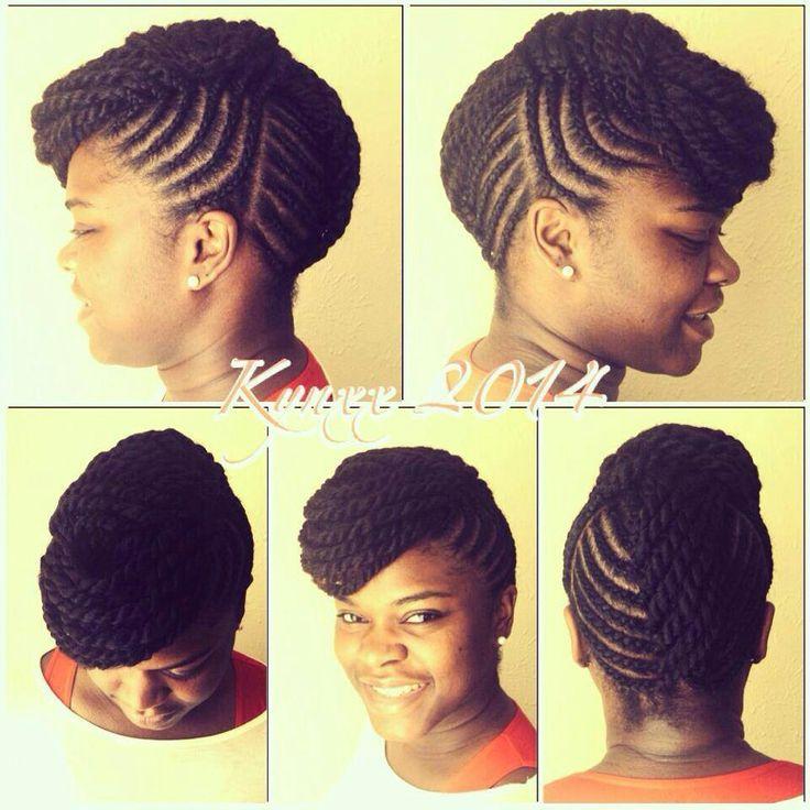 Astonishing 1000 Ideas About Flat Twist Updo On Pinterest Flat Twist Hairstyles For Men Maxibearus
