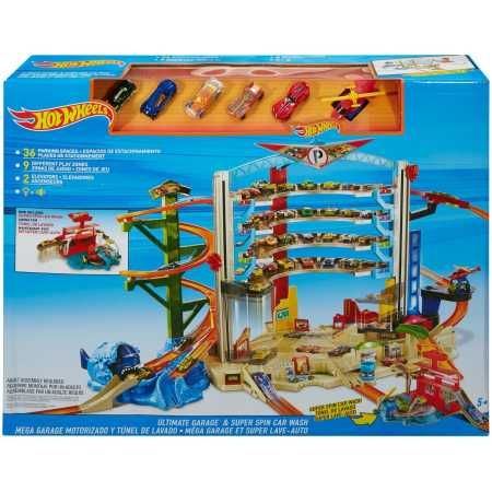 Hot Wheels Ultimate Garage Playset With Car Wash