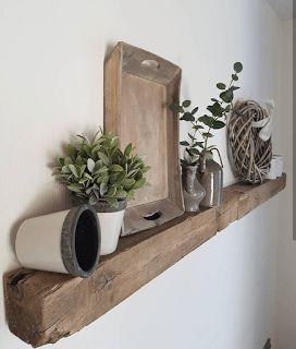 DIY – Regal aus alten Balken