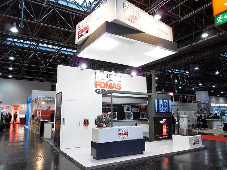VALVE WORLD EXPO - Messe Düsseldorf. FOMAS. Ricerca, analisi, promozione e comunicazione. Progettazione e realizzazione dell'allestimento dello stand. Photo by honegger