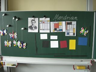 As reported, I want a small Mondrian butterfly in art class with my group after the Easter holidays