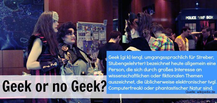 AT: Wann ist ein Geek ein Geek?   Fried Phoenix
