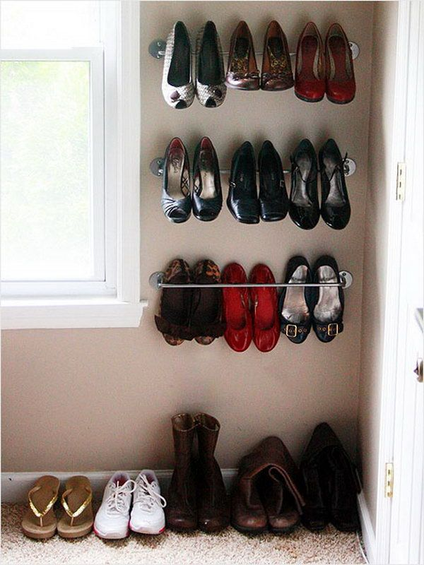15 Creative Shoes Storage Ideas 9 best