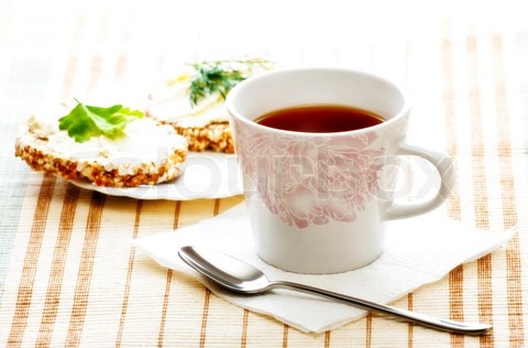 Google Image Result for http://www.colourbox.com/preview/2214970-558300-diet-breakfast-with-tea-and-corn-bread-high-key.jpg