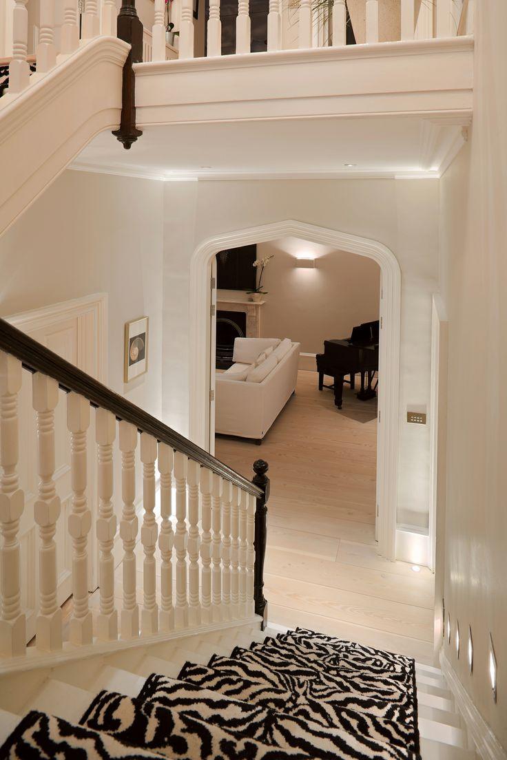 Lighting Basement Washroom Stairs: 121 Best Corridors & Stairs Lighting Images On Pinterest