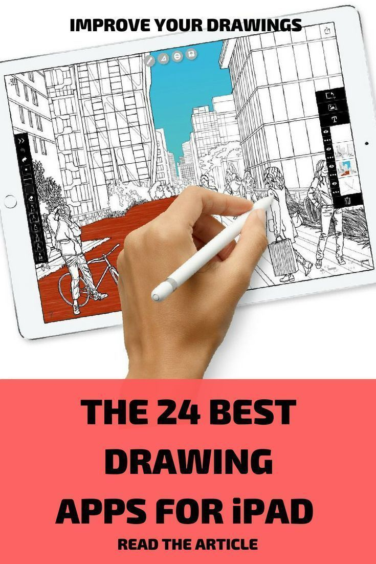 The Best 24 Drawing And Painting Apps For Ipad Pro In 2020 Ipad Drawing App Paint App App Drawings
