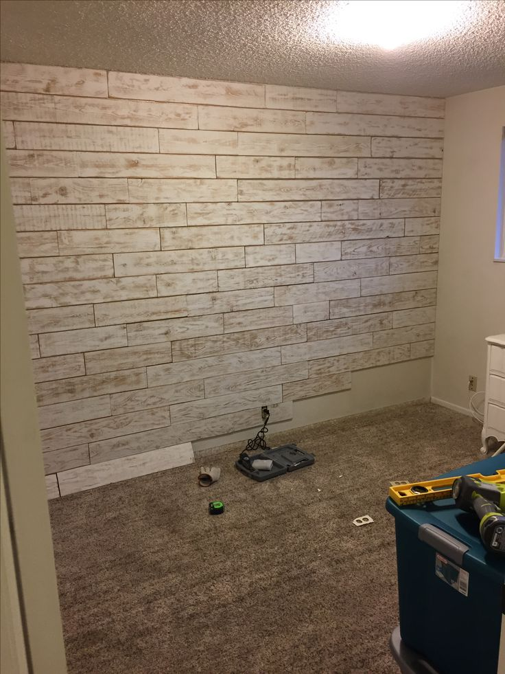 More of nursery wall, fence slats, drywall paint, sander, and saw. Why pay more