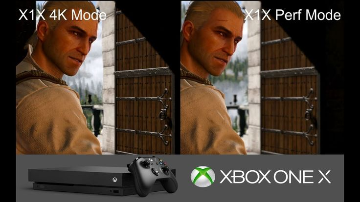 Witcher 3 XBOX ONE X - 4K Mode vs 60 FPS Mode Graphics Comparison #xboxone #games #gaming #videogames