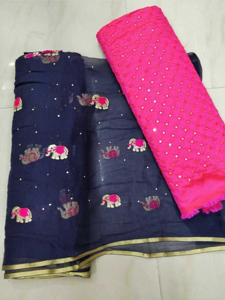 Saree with blouse designerblouse