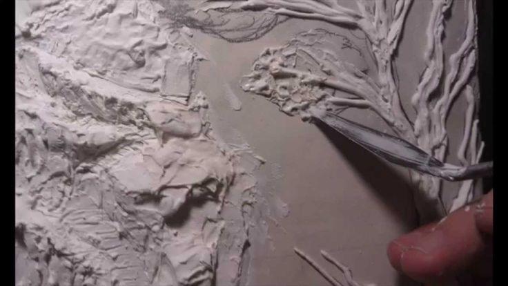 """Барельеф этапы создания .рельефное панно.3D панно """"Окраина Эриадора"""""""