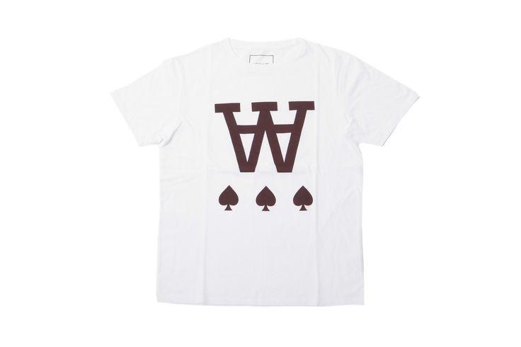 #WOOD #WOOD - AA SPADE #T-SHIRT - WHITE