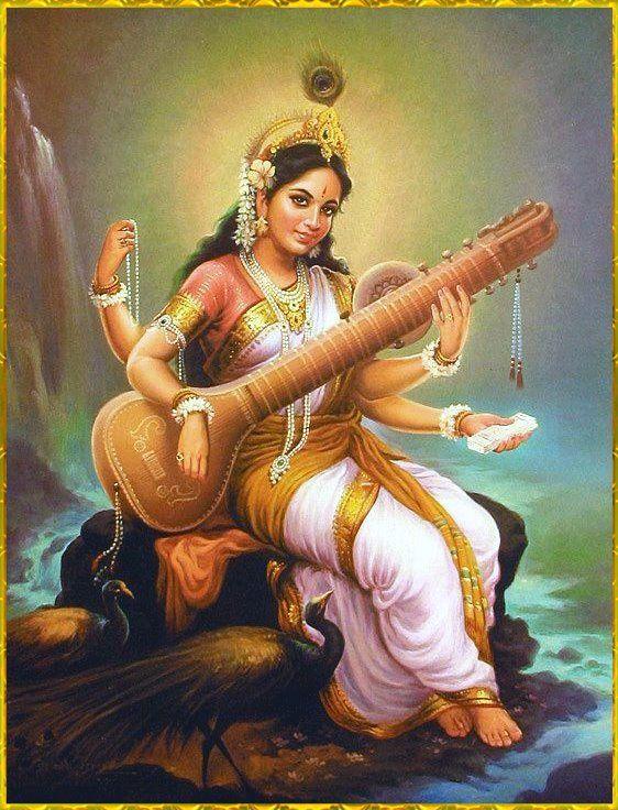Sanskrit Of The Vedas Vs Modern Sanskrit: 1000+ Images About Saraswati On Pinterest