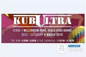 KubUltra 2016  KubUltra 2016 will be organized at Taman Millenium Park, Kuala Kubu Bharu on 5th March 2016.* For online registration, please visit this website http://www.kubultra.asiantrailexplorers.com/register.ht ...  https://www.cloudhax.com/event/listing/details/4903