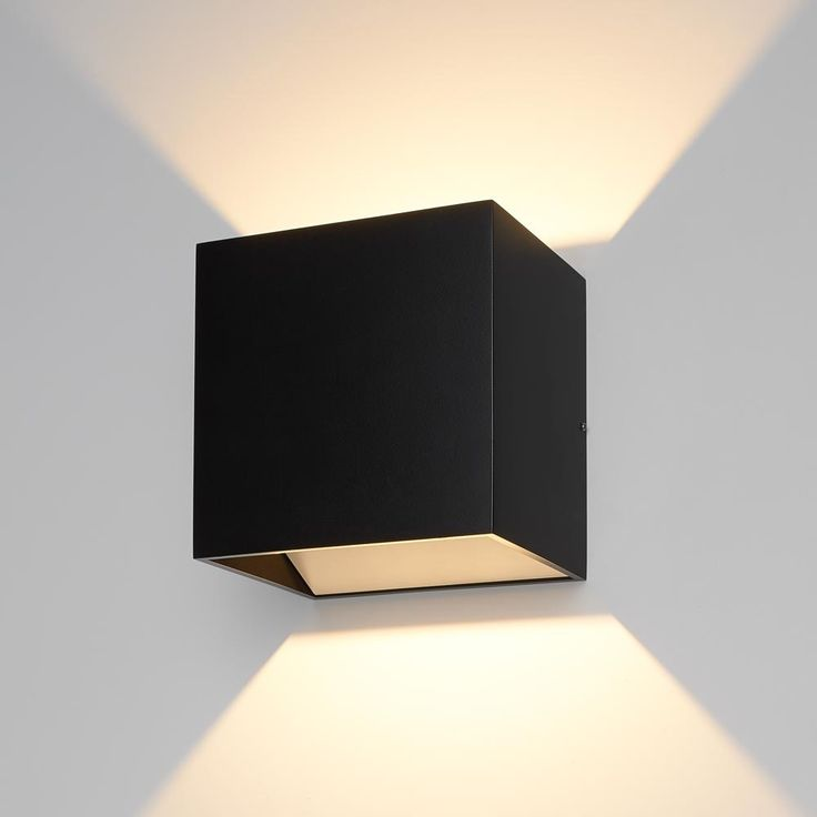 The QB LED Wall Sconce is an indirect LED sconce made of extruded aluminum. http://www.ylighting.com/bruck-qb-led-wall-sconce.html