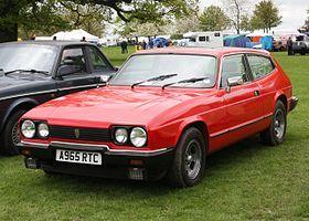 Reliant Scimitar GTE SE6 (1975), SE6A (1976) and SE6B (1980) with 2792cc