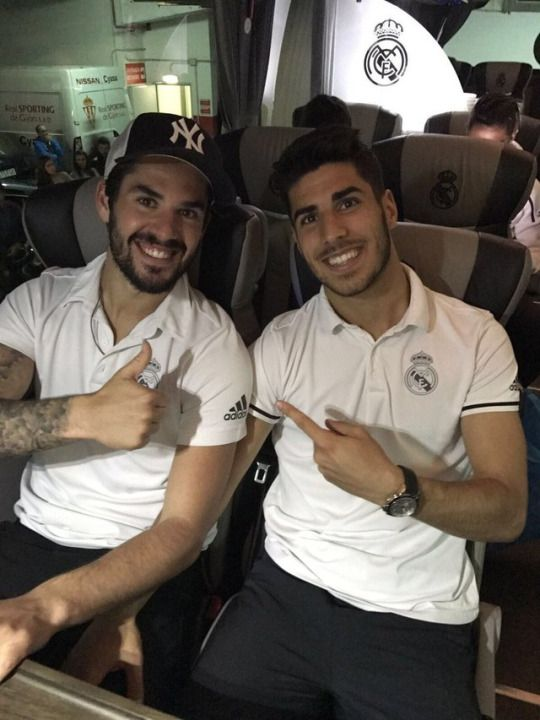 Isco & Asensio.