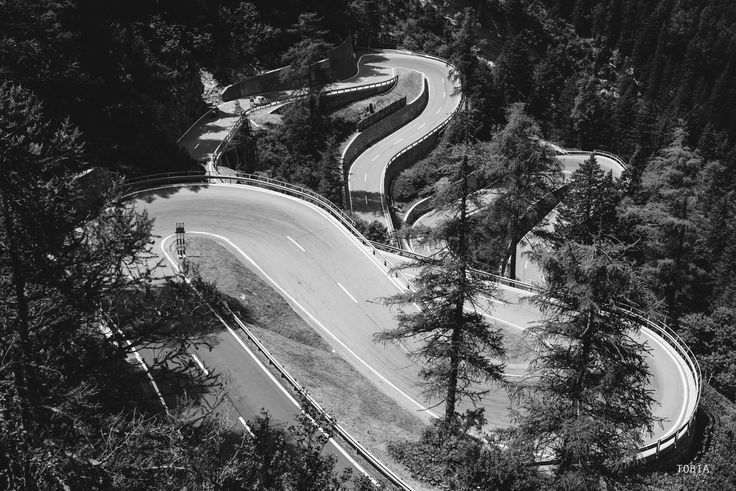 Design road - Maloja Pass - Switzerland, Maloja Pass road 3 July 2016 © Tobia Scandolara