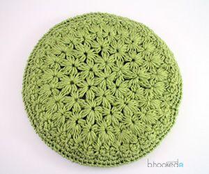 Starburst Beret - free crochet pattern plus LEFT & RIGHT HANDED videos by B.hooked Crochet.