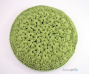 Starburst Beret - free crochet pattern plus LEFT & RIGHT HANDED videos by B.hooked Crochet.