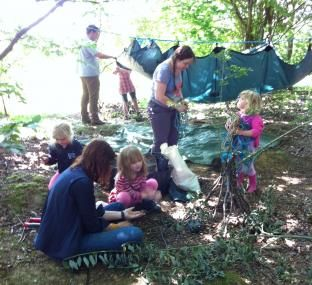 Abbotts Hall Farm Forest School Drop Off Day Over 5'S
