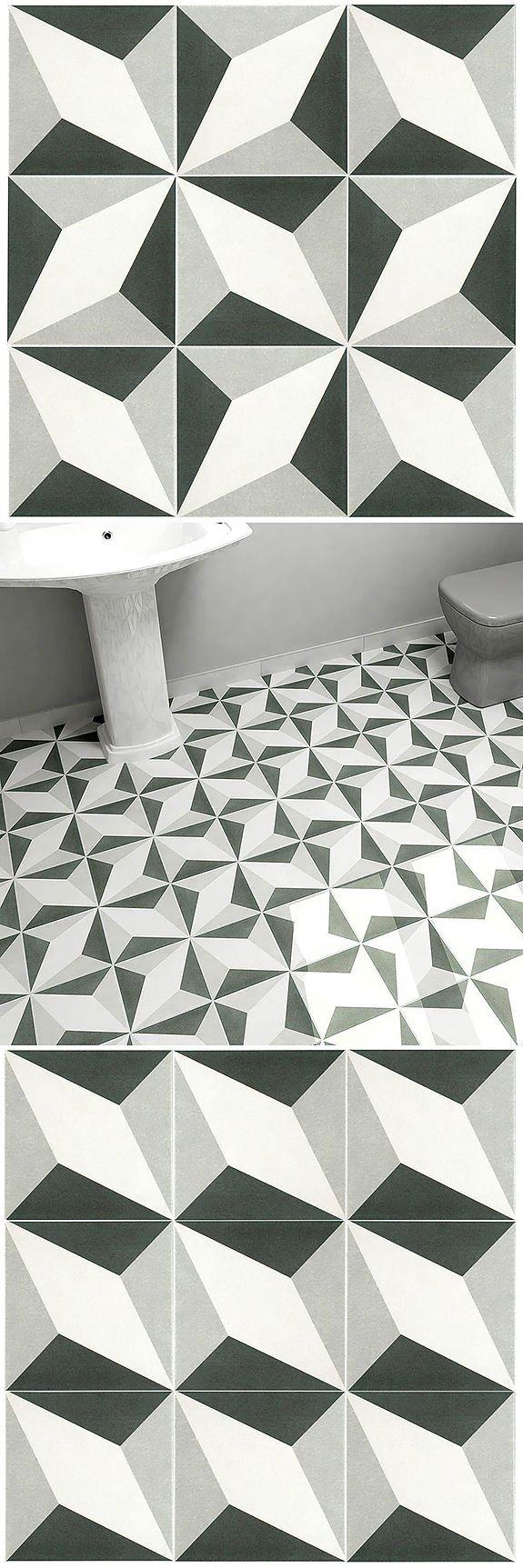 210 best inspiring tile images on pinterest mosaic bathroom ideas merola tile twenties diamond 7 34 in x 7 34 in ceramic floor and wall tile dailygadgetfo Gallery