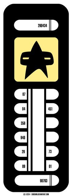 Star Trek LCARS Door Sign 1 by Euderion on DeviantArt