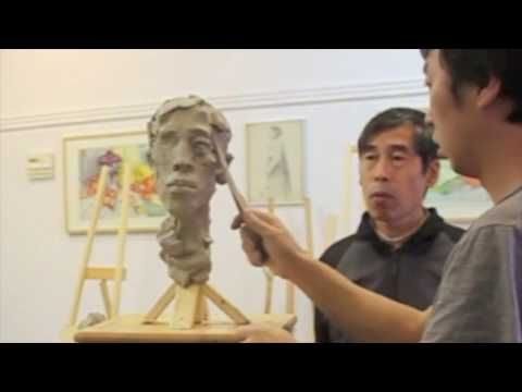 Sculpting with Ben - Real Time Clay Portrait Sculpture