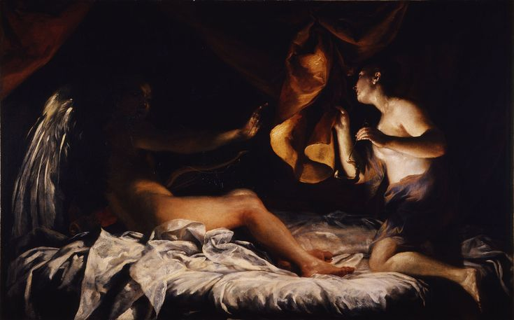 Cupid and Psyche, Giuseppe Maria Crespi