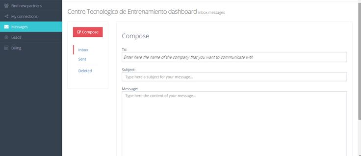 Take a look at our new Messages system. Create a profile of your software or cloud company, send & receive messages!