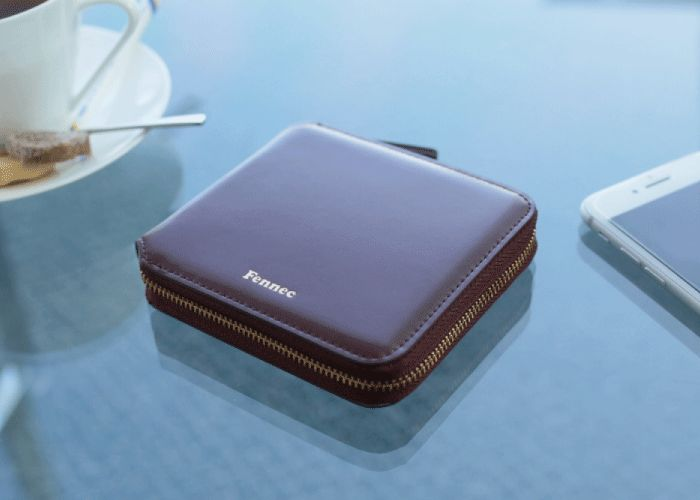 Fennec Zipper Wallet フェネック レディース 二つ折り財布 コインケース付 本革レザー コンパクト財布 ギフト 【送料無料】 【あす楽】