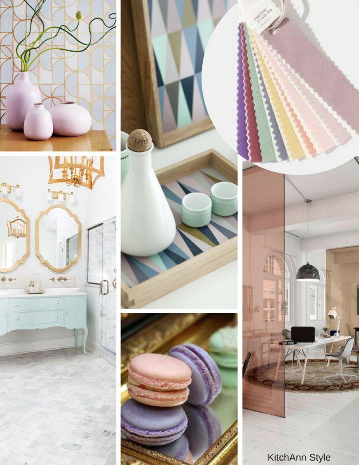 Pantone View Home Interiors 2018 Color Palettes